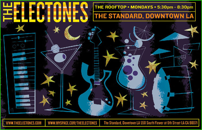 The Electones At Standard Hotel Rooftop